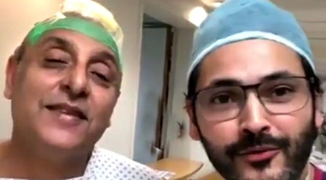 ساجد حسن کے ہیئر ٹرانسپلانٹ کی ویڈیو سوشل میڈیاپروائرل