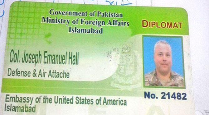 نوجوان کو کچلنے والے امریکی سفارتکار کا نام ای سی ایل میں نہ ڈالنے کا فیصلہ
