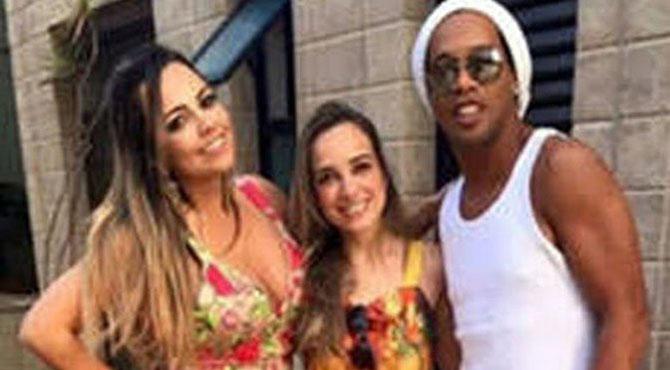 شادی ایک بیویا ں دو ،فٹ بالر اسٹار رونالڈینو نے 2 خواتین سے شادی کا فیصلہ کر لیا