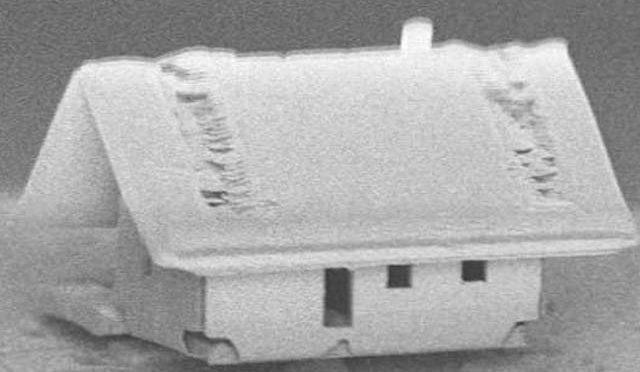 انسانی بال سے بھی باریک، دنیا کا سب سے چھوٹا گھر تیار