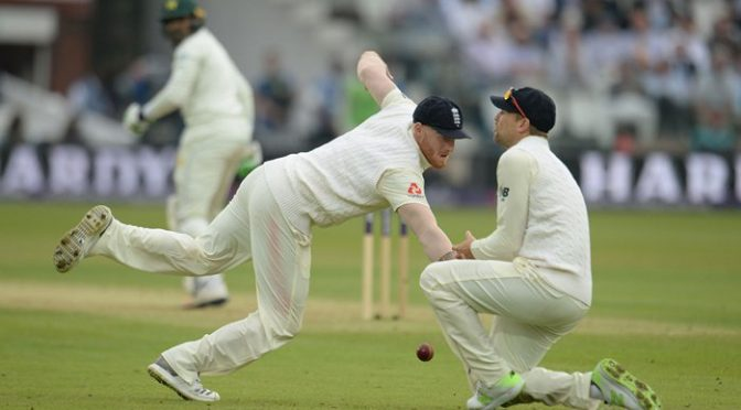 لارڈز ٹیسٹ میں پاکستان کے 102رنز پر 2کھلاڑی آﺅٹ