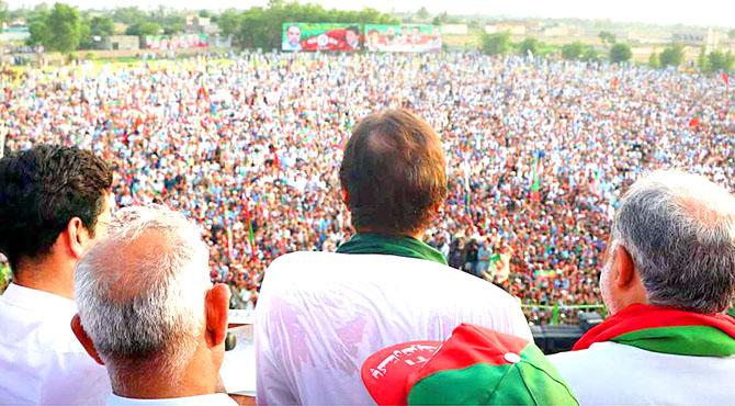 عمران خان آج 5بجے سیالکوٹ پہنچیں گے