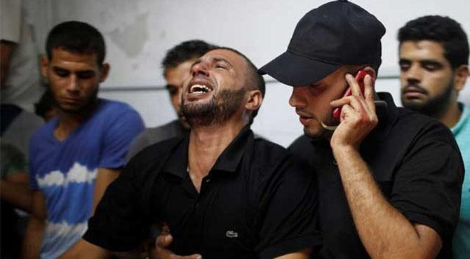 غزہ پر اسرائیلی بمباری سے مزید 3 فلسطینی شہید