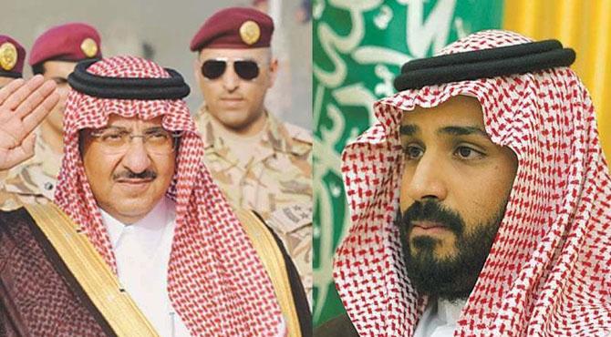 سعودی عرب میں بڑا بحران ، بادشاہت کس کا مقدر بنے گی ؟ ولی عہد چچا کے استقبال کیلئے گئے مگر سرد مہری چھپی نہ رہ سکی