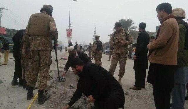 کوئٹہ میں بارودی سرنگ کے دھماکے میں 3 سیکیورٹی اہلکار شہید، 4 زخمی