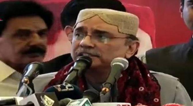 وہ دن دور نہیں جب طاقتوں کو احساس ہوگا کہ پاکستان اصل عوامی نمائندے چلاسکتے ہیں:آصف زرداری