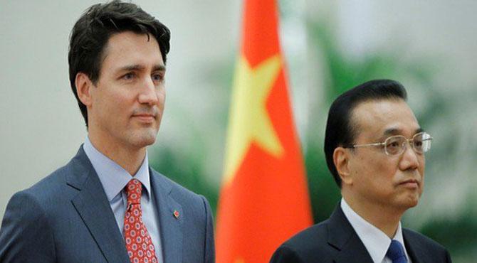 سفارتی کشیدگی؛ کینیڈا کی چین میں اپنے شہریوں کو محتاط رہنے کی ہدایت