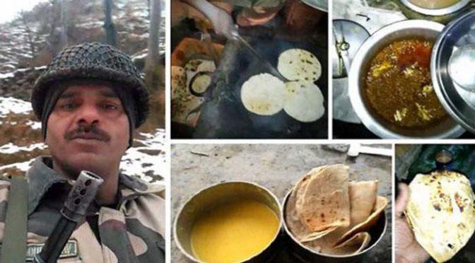 ناقص کھانے کی شکایت کرنے والے بھارتی فوجی کے بیٹے کی پراسرار موت