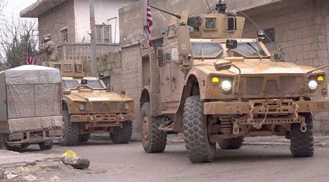 شام میں داعش کا خودکش حملہ، 4 امریکی فوجیوں سمیت متعدد ہلاک