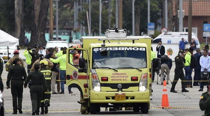 کولمبیا میں کار بم دھماکے میں 21 افراد ہلاک،68 زخمی