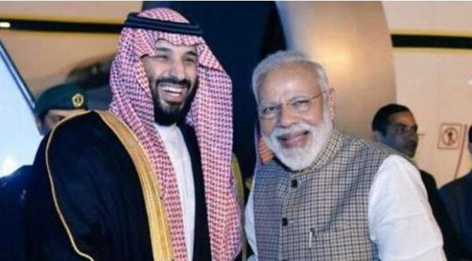 سعودی عرب نے بھارت میں 100 ارب ڈالر کی سرمایہ کاری کا اعلان کر دیا