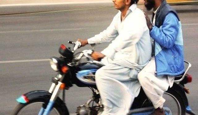اسلام آباد میں ڈبل سواری پرپابندی عائد