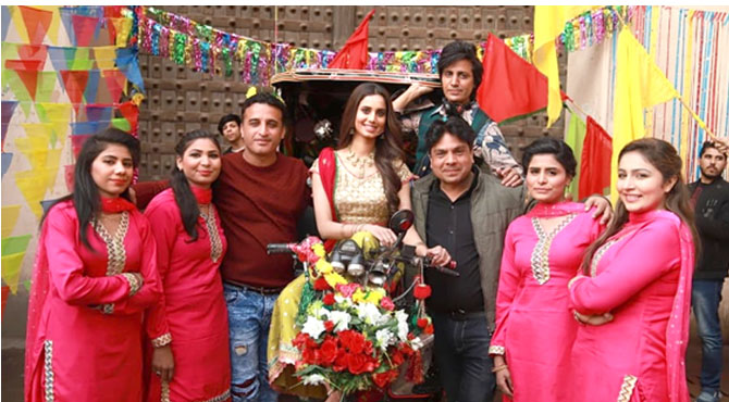 فلم دہلی گیٹ کاسکرپٹ دو سال میں مکمل کیا گیا ہے 'ندیم چیمہ