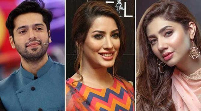 پاکستانی فنکارمہوش حیات کے حق میں نعرے بلند کرنے لگے