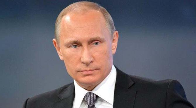روسی صدر نے سوشل میڈیا پر مخالفین کیخلاف کریک ڈاؤن کیلیے قوانین کی منظوری دے دی