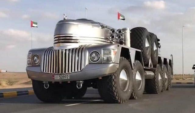 امارتی شیخ نے دنیا کی سب سے بڑی اور عجیب ایس یو وی بنالی