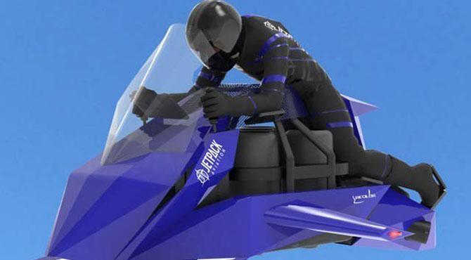 اڑن موٹرسائیکل تیار، کمپنی نے آرڈر لینا شروع کردیئے