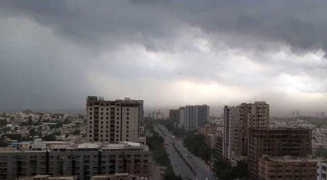 لاہور سمیت ملک کے بیشتر بالائی علاقوں میں آج مطلع ابرآلود رہیگا