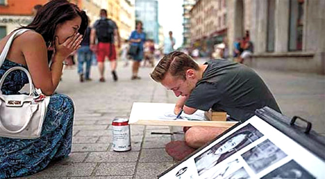 معذور مصور نے حیرت انگیز تصاویر بنا ڈالیں