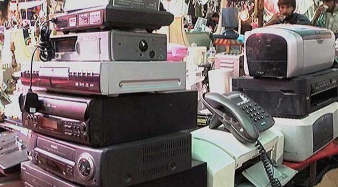 استعمال شدہ ایل سی ڈی ، ویڈیو فونز ، واکی ٹاکی سمیت 470 اشیاءکی درآمد پر پابندی