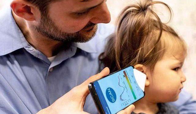 کان میں انفیکشن کو 'سننے والی' اسمارٹ فون ایپ