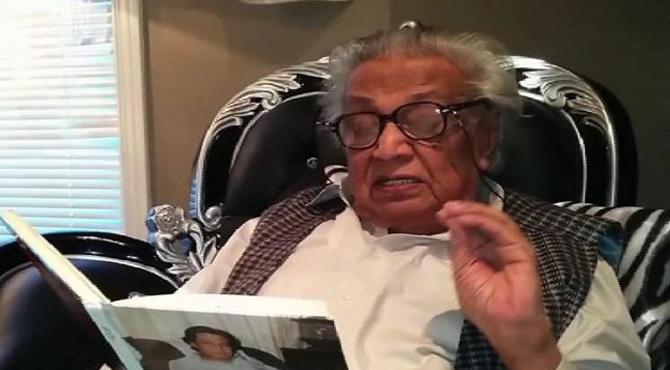 اردو کے معروف شاعر، ادیب اور نغمہ نگار حمایت علی شاعر کینیڈا میں انتقال کرگئے