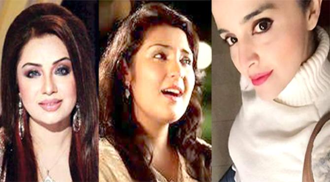 ملک حالت جنگ میں ہے، غیرمسلموں کے شو قابل مذمت ہیں،میلوڈی کوئین شاہدہ منی، گلوکارہ سارہ رضا خان، فیشن ڈیزائنر درشہوار کی چینل ۵ سے خصوصی گفتگو