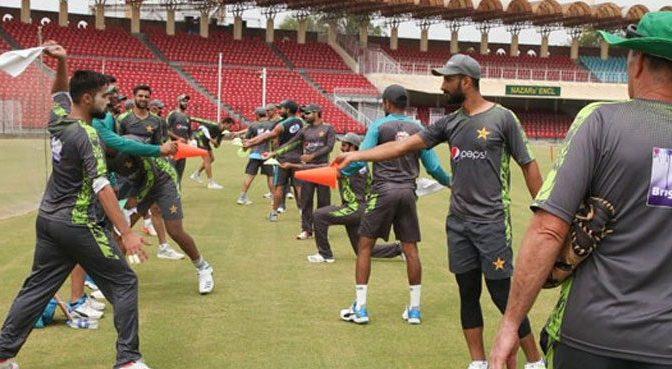 سری لنکا کے خلاف سیریز ، قومی ٹیم کے تربیتی کیمپ کا آغازقذافی سٹیڈیم میں ہوگیا