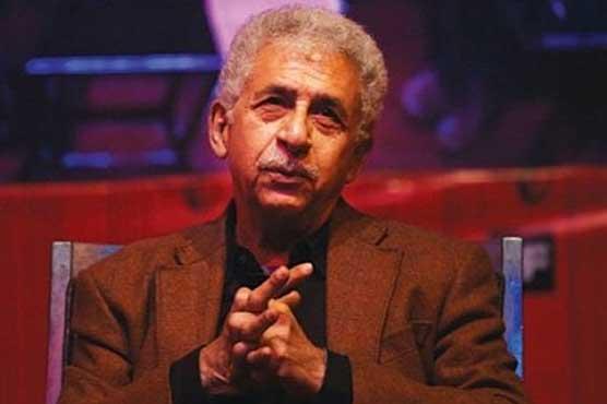 اداکار نصیر الدین شاہ پھرمشتعل ہجوم کے ہاتھوں مسلمانوں کے قتل عام سے متعلق اپنے بیان پر ڈٹ گئے