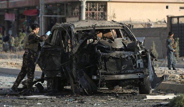 کابل میں کار بم دھماکے میں 7 افراد ہلاک، 7 زخمی