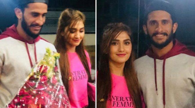 ان فٹ حسن علی نے اہلیہ کیلئے 'بحالی صحت' کے پروگرام سے 4 دن کی چھٹی لے لی