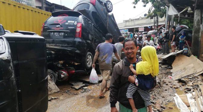 انڈونیشیا: طوفانی بارشوں اور سیلاب سے 23 افراد ہلاک