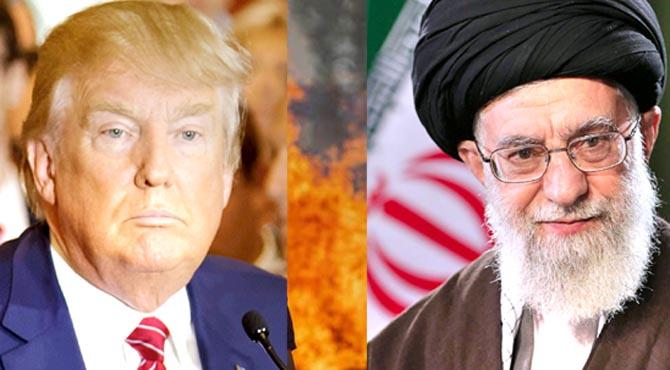 سفارتخانے پر حملے کی بھاری قیمت چکانا پڑیگی ،ٹرمپ کی دھمکی ،منہ توڑ جواب ملے گا ،آیت اللہ حامنہ ای