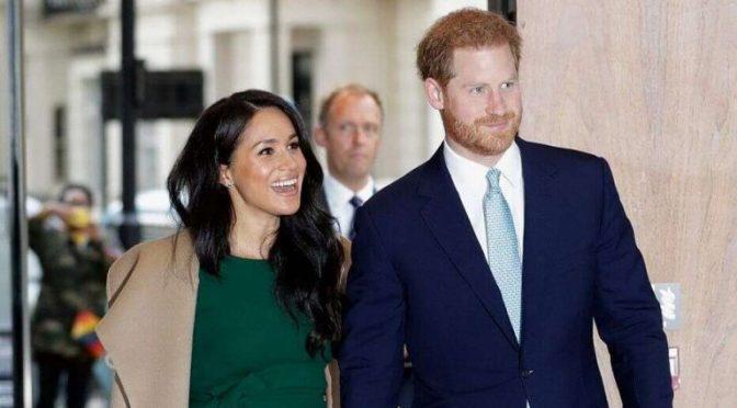 برطانوی شہزادہ ہیری کی اہلیہ کی شوبز میں واپسی