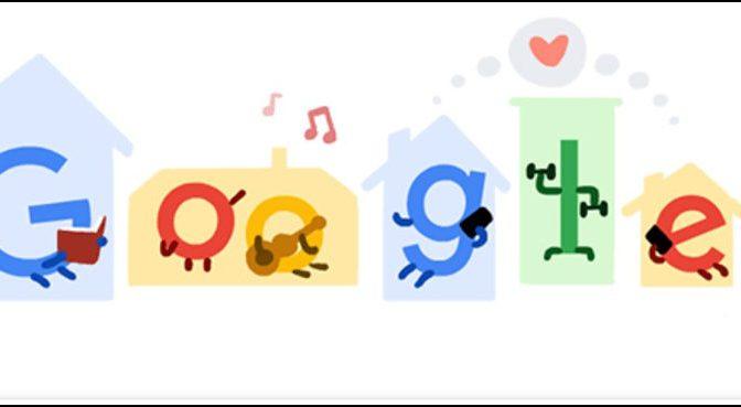گوگل کا منفرد انداز سے دنیا بھر کے صارفین کو اہم پیغام