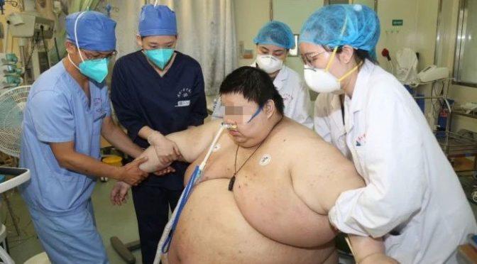 لاک ڈاؤن کے دوران سب سے زیادہ موٹا ہونے والا شخص سامنے آگیا
