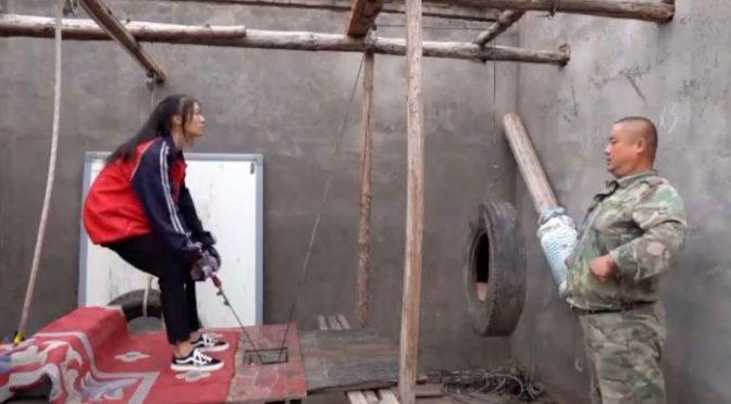 والد نے بیٹی کو کامیاب ایتھلیٹ بنانے کیلئے کباڑ سے گھر میں جم بنا دیا