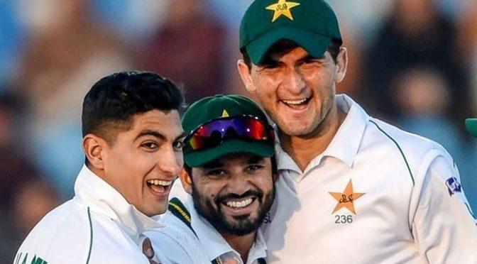 نسیم اور شاہین کی ٹیم میں شمولیت میری خوش قسمتی ہے: اظہر علی