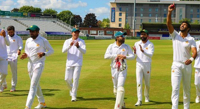 پاکستان نے انگلینڈ کے خلاف ٹیسٹ سیریز کیلئے بیس رکنی اسکواڈ کا اعلان کردیا