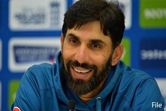 انگلینڈ کے خلاف ٹیم کی تیاری سے مطمئن ہوں: مصباح الحق