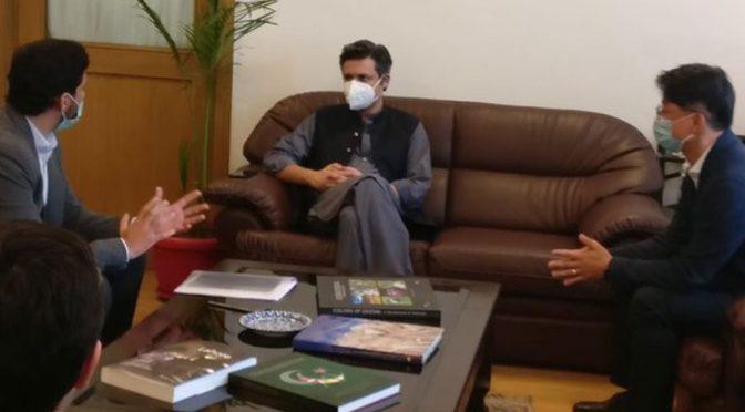 ٹیکنالوجی کمپنی سام سنگ پاکستان میں پیداواری پلانٹ لگانے کی خواہشمند