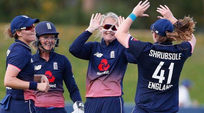 انگلینڈ کی ویمنز کرکٹ ٹیم اکتوبر میں پہلی مرتبہ پاکستان آئے گی