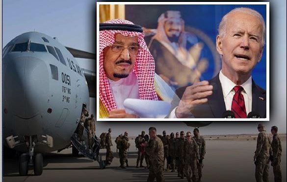 امریکہ نے عرب ممالک سے عسکری تنصیبات اور فوجی کم کردئیے
