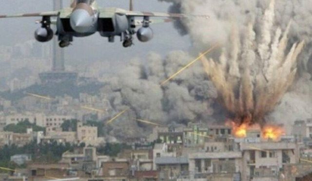 امریکا کے افغانستان میں طالبان کے ٹھکانوں پر فضائی حملے