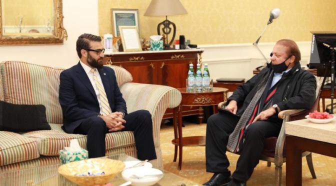 'ہر پاکستان دشمن سے ان کی دوستی ہے'، افغان رہنما سے نواز شریف کی ملاقات پر وفاقی وزرا کی تنقید
