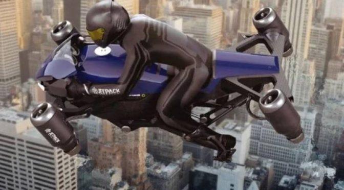دنیا کی پہلی اڑنے والی موٹر سائیکل 2023 میں دستیاب ہو گی