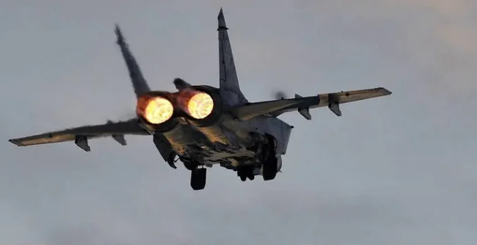 روسی افواج نے امریکی بمبار طیارہ مار بھگایا